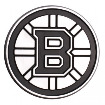 Boston Bruins NHL Plastic Auto Emblem