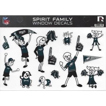 Philadelphia Eagles Family Spirit Decal Set
