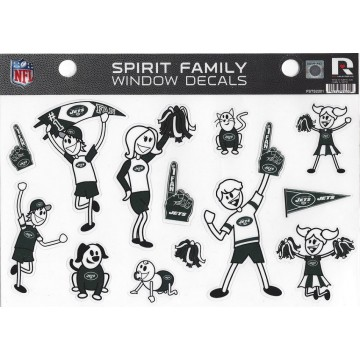 New York Jets Family Spirit Decal Set