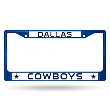 Dallas Cowboys Anodized Blue License Plate Frame