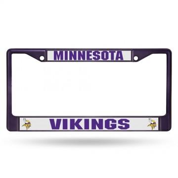 Minnesota Vikings Anodized Purple License Plate Frame