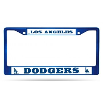 Los Angeles Dodgers Anodized Blue License Plate Frame