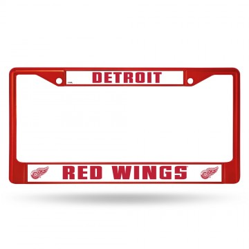 Detroit Red Wings Anodized Red License Plate Frame