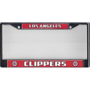 Los Angeles Clippers Chrome License Plate Frame