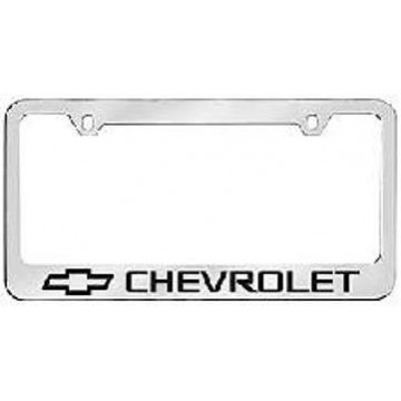 Chevrolet Solid Brass License Plate Frame