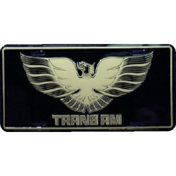 Trans Am License Plate