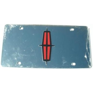 Lincoln Silver Laser License Plate