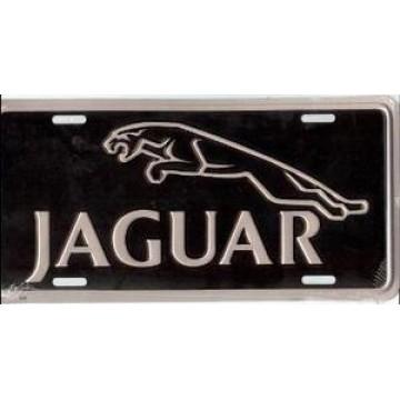 Jaguar Metal License Plate