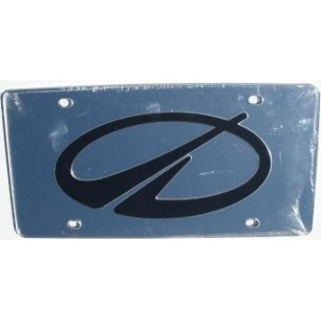Oldsmobile Silver Laser License Plate