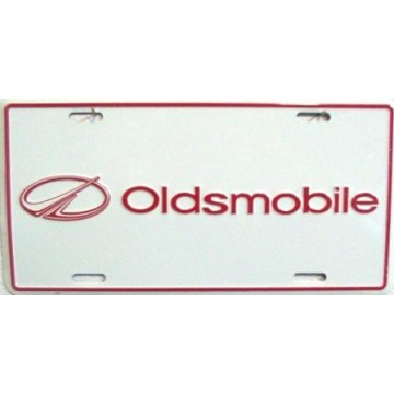 Oldsmobile Metal License Plate