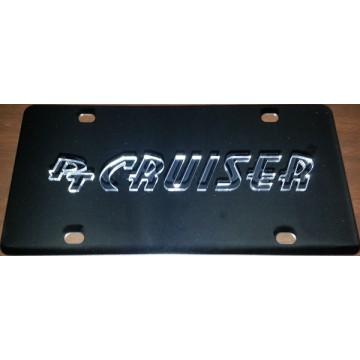 PT Cruiser Stainless Steel License Plate