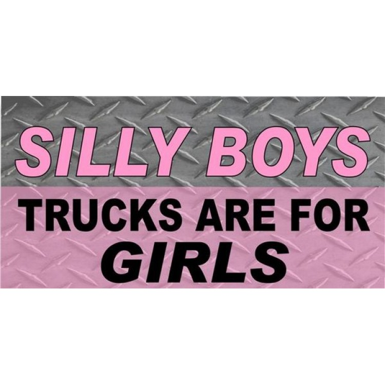 Silly Boys Pink Diamond Photo License Plate