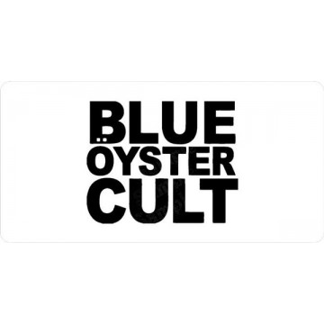 Blue Oyster Cult Photo License Plate