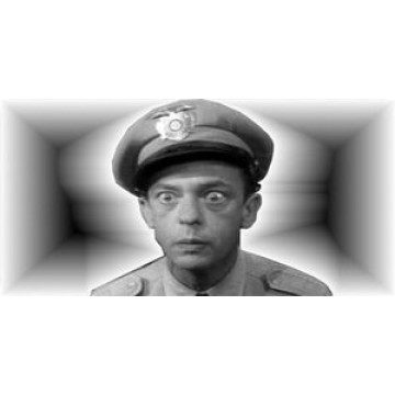 Barney Fife Photo License Plate