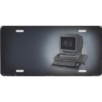 Computer on Gray