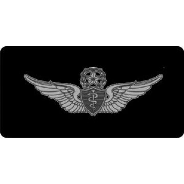 Army Master Flight Surgeon Shield Photo License Plate