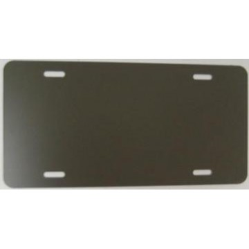0.040 Bronze Aluminum Blank License Plate