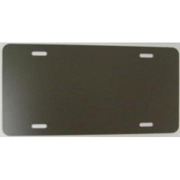 0.040 Bronze Aluminum Blank License Plate