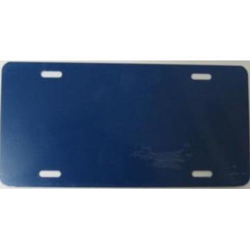 0.040 Heron Blue Aluminum Blank License Plate