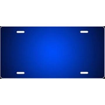 Blue Ringer Airbrush License Plate