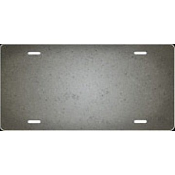Concrete Ringer Airbrush License Plate