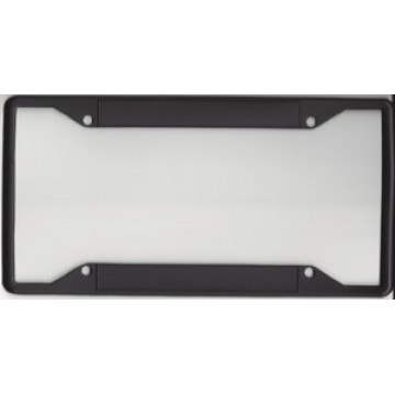 Every State Zinc Alloy Black Double Panel License Plate Frame