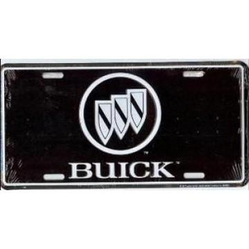 Buick Logo On Black License Plate