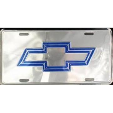 Chevrolet Bowtie Anodized License Plate
