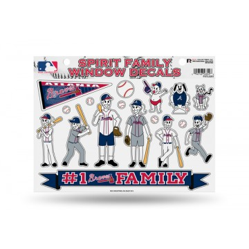Atlanta Braves Family Decal Set