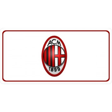 AC Milan Photo License Plate
