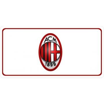 AC Milan Photo License Plate