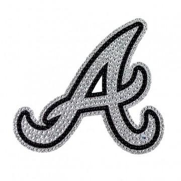 Atlanta Braves Diamond Bling Auto Emblem