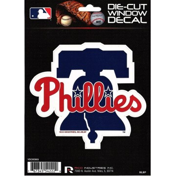 Philadelphia Phillies Die Cut Vinyl Decal