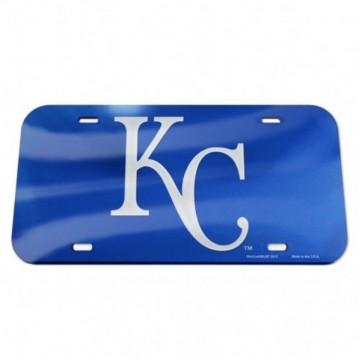 Kansas City Royals Blue Laser License Plate