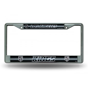Los Angeles Kings Glitter Chrome License Plate Frame
