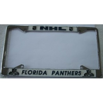 Florida Panthers Chrome License Frame