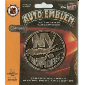 New York Islanders Auto Emblem