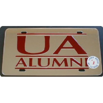 Arkansas Razorbacks Alumni Laser Team License Plate
