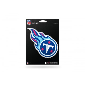 Tennessee Titans Glitter Die Cut Vinyl Decal
