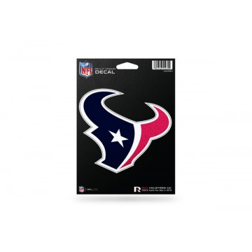Houston Texans Glitter Die Cut Vinyl Decal