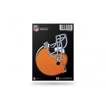 Cleveland Browns Glitter Die Cut Vinyl Decal