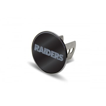 Oakland Raiders Laser Hitch Cover