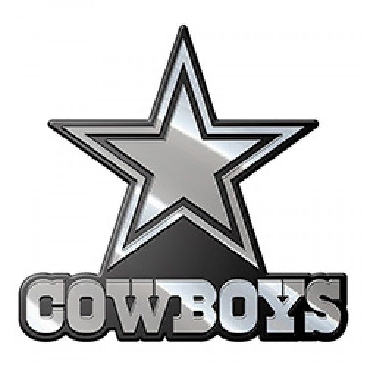 Dallas Cowboys NFL Metal Auto Emblem