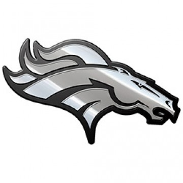Denver Broncos NFL Metal Auto Emblem