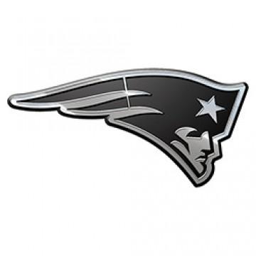 New England Patriots NFL Metal Auto Emblem