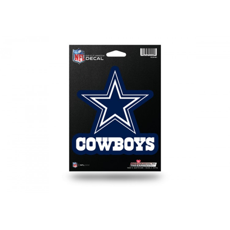 Dallas Cowboys Die Cut Vinyl Decal