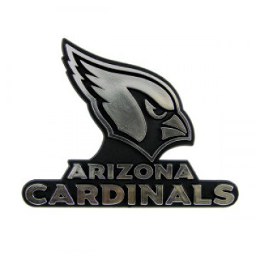 Arizona Cardinals NFL Chrome Auto Emblem