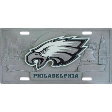 Philadelphia Eagles - 3D Collector License Plate
