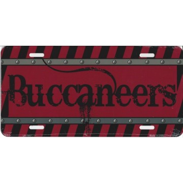 Tampa Bay Buccaneers Construction License Plate