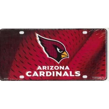 Arizona Cardinals Metal License Plate